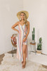 Wanderlux Cape Cod Maxi Dress - Warm Stripes - FINAL SALE