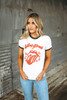 Daydreamer Rolling Stones Star Tongue Ringer Tee - White