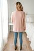 V-Neck Soft Sweater - White