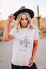 Desert Vibes Graphic Tee - Taupe - FINAL SALE