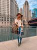 Aspen Dreams Colorblock Cardigan - Cream Multi - FINAL SALE