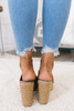Chinese Laundry Quay Espadrille Wedges - Brown
