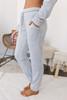 Soft Brushed Drawstring Joggers - Heather Grey