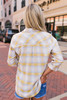 Adventure of a Lifetime Plaid Button Down - Mustard Multi