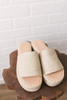 Coconuts by Matisse Del Mar Espadrille Slides - Natural- FINAL SALE
