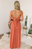 Desert Wind Crochet Detail Maxi - Rust