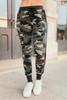 BB Dakota Leg Room Camouflage Sweatpants - Army Green
