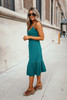 Jack by BB Dakota You Thread My Mind Dress - Pine Green - FINAL SALE