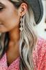 Moroccan Filigree Dangle Earrings - Gold