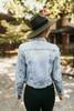 Free People Rumors Denim Jacket - Light Wash - FINAL SALE