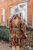 Free People Nouveau Mini Dress - Olive Combo