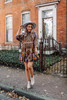 Free People Nouveau Mini Dress - Olive Combo