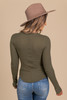 Free People One of the Girls Army Henley