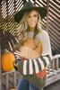 Striped Sleeve Colorblock Popcorn Sweater - Multi