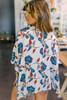 Southern Coast Printed Kimono