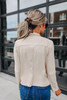 BB Dakota Suede It Out Tan Jacket