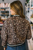 BB Dakota Cat Fight Leopard Bomber Jacket