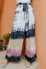 Vintage Havana Tie Waist Tie Dye Pants