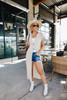 Sadie & Sage Boardwalk Natural Knit Duster