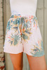 Sadie & Sage Tropical Linen Shorts