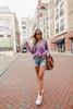 Lightweight V-Neck Lilac Sweater