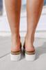 Elena Rose Gold Platform Sandals