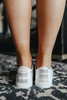 Rori White Canvas Sneakers