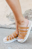 Lindy Strappy Tan Espadrille Sandals