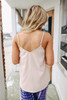 Pike Place Sand Button Down Tank