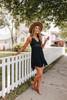 Slow Dance Lace Bralette Black Dress