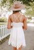 Slow Dance Lace Bralette Ivory Dress