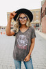 Tiger Muse Vintage Charcoal Tee