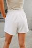 Power Play White Shorts