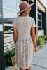 Leopard Sand Babydoll Dress