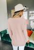 Lightweight V-Neck Blush Sweater