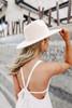 Wandering Heart Wide Brim Khaki Hat