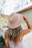 Belize Rope Belted Pink Hat