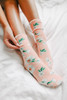 Daisy CBD Cozy Peach Socks