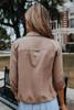Roll Tab Sand Peach Skin Jacket