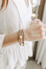 Athena Gold Beaded Bracelet