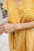 Athena Rose Gold Beaded Bracelet