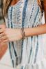 Athena Silver Beaded Bracelet