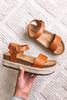 North Shore Cognac Espadrille Sandals