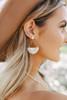 Sydney Ivory Fringe Earrings