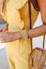 Beaded Natural Cuff Bracelet