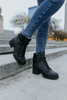 Very G Olivia Black Teddy Boots