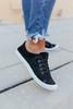 Gypsy Jazz Black Sherpa Sneakers