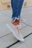Gypsy Jazz Cream Sherpa Sneakers