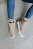 Very G Rolla Faux Suede Taupe Sneakers