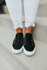 Gypsy Jazz Playful Black Sneaker